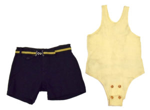 Men's Bathing Suit, 1920s Courtesy of the MSU Museum Flickr Page